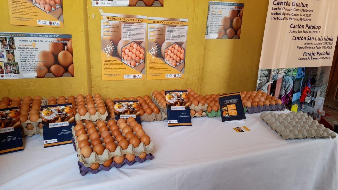 Feria de Promoción para el Consumo y Comercialización de Garbanzos y Huevos